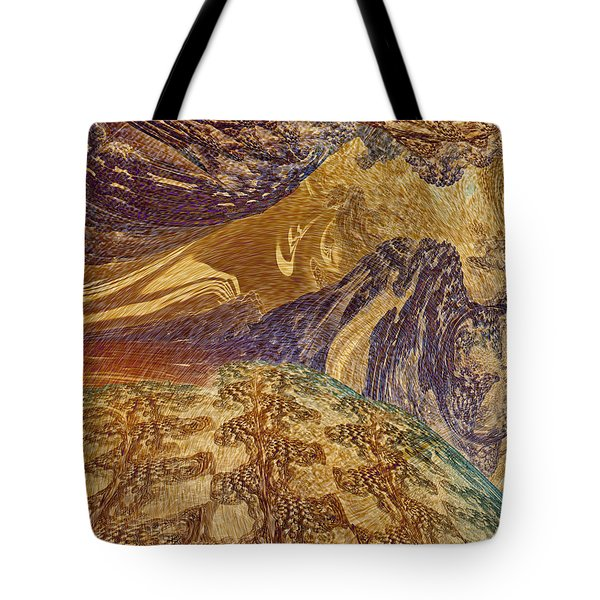 An Act Of Creation Tote Bag