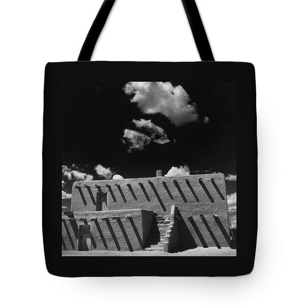 An Adobe House Tote Bag