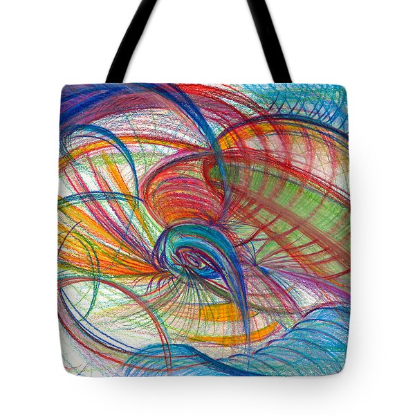 An Affair Of Energy Tote Bag