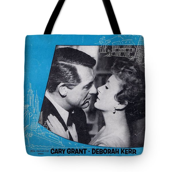 An Affair To Remember Tote Bag by Mel Thompson