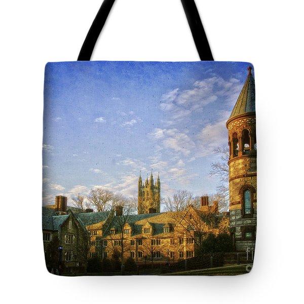 An Afternoon At Princeton Tote Bag