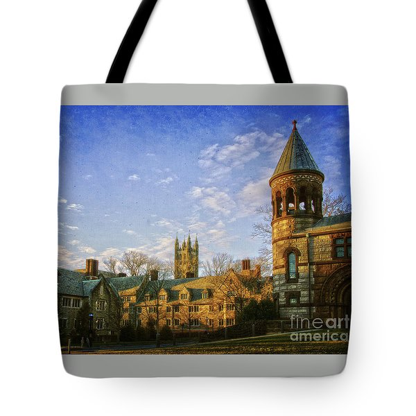 An Afternoon At Princeton Tote Bag