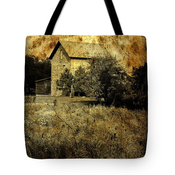 An Aged Photo Of The Old Waterloo Mill Tote Bag