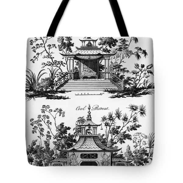 An Alcove And A Cool Retreat Tote Bag by Paul Decker