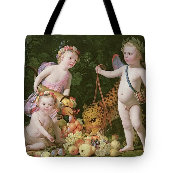 An Allegory Of Peace And Plenty Tote Bag