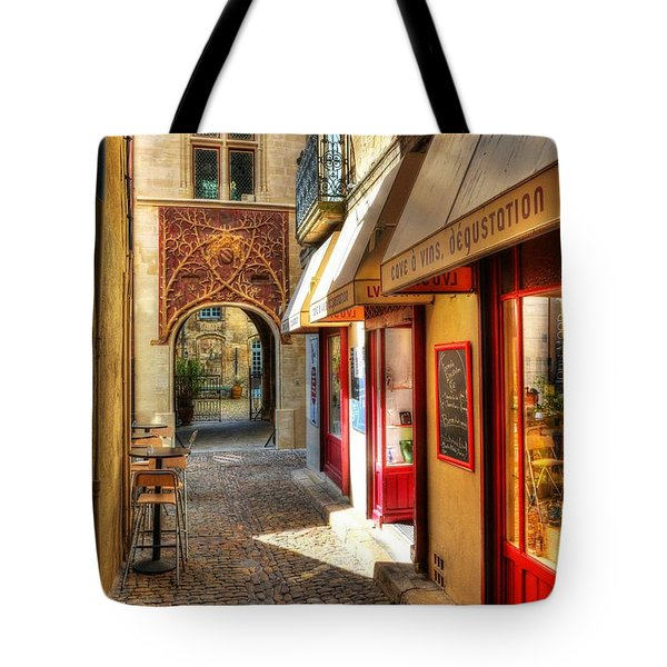 Tote Bag featuring the photograph An Alley In Avignon by Mel Steinhauer