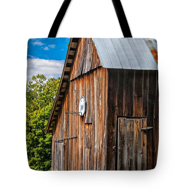 An American Barn Tote Bag by Steve Harrington