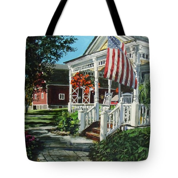 An American Dream Tote Bag