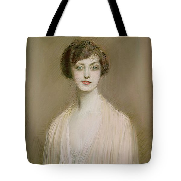 An American Tote Bag by Paul Cesar Helleu