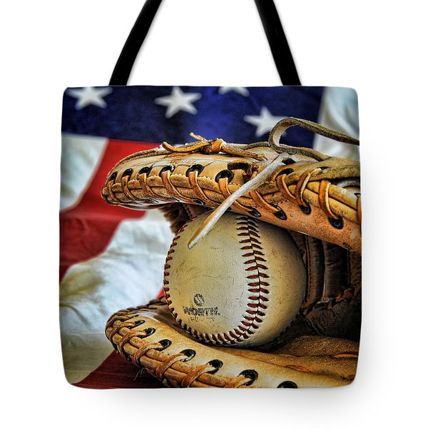 An American Tradition Tote Bag by Kenny Francis