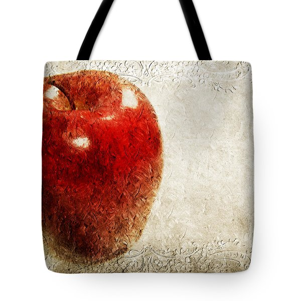 An Apple A Day Tote Bag by Andee Design