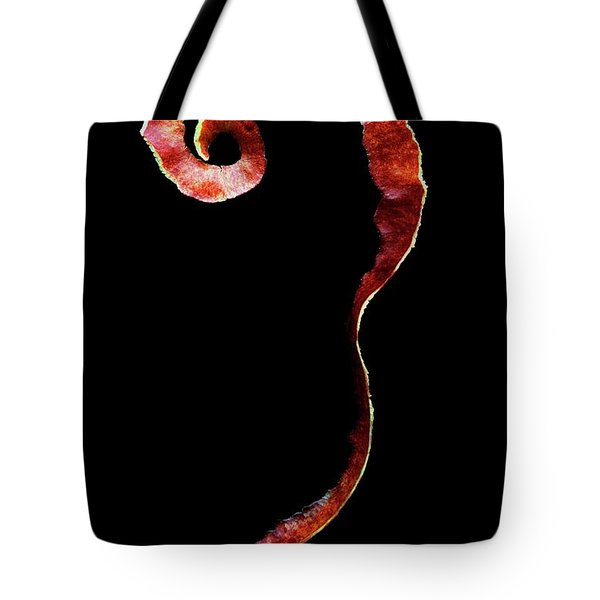 An Apple Peel Tote Bag