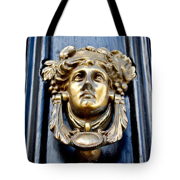 Tote Bag featuring the photograph An Art Nouveau Welcome by Jean Haynes