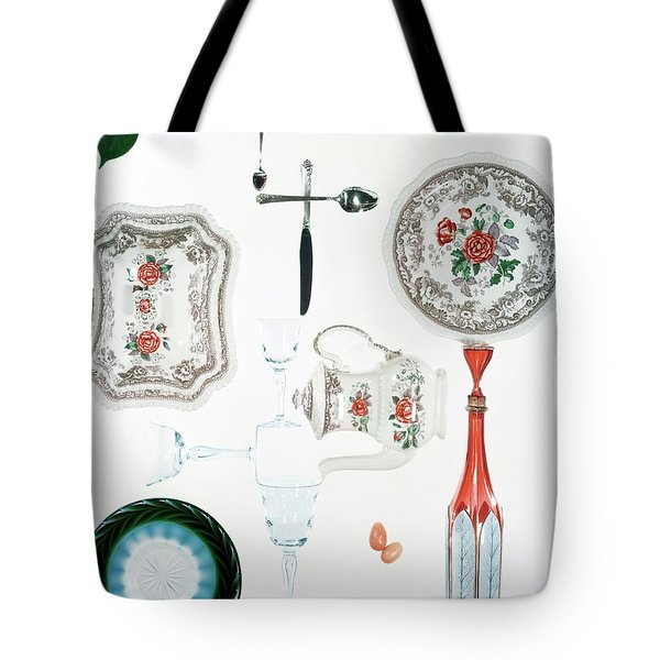 An Assortment Of Crockery Tote Bag