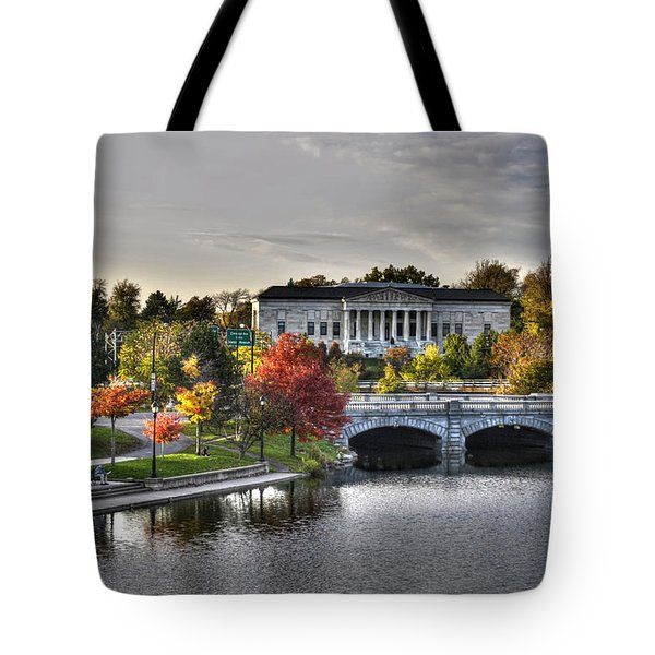 An Autumn Day At Hoyt Lake...dusk Oct2014 Tote Bag