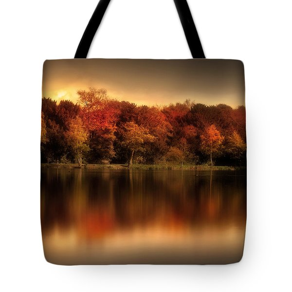 An Autumn Evening Tote Bag by Jennifer Woodward