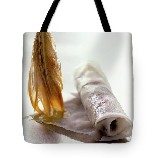 An Egg Roll Tote Bag