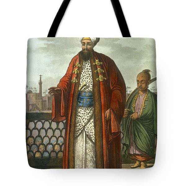 An Egyptian Bey Tote Bag by Luigi Mayer