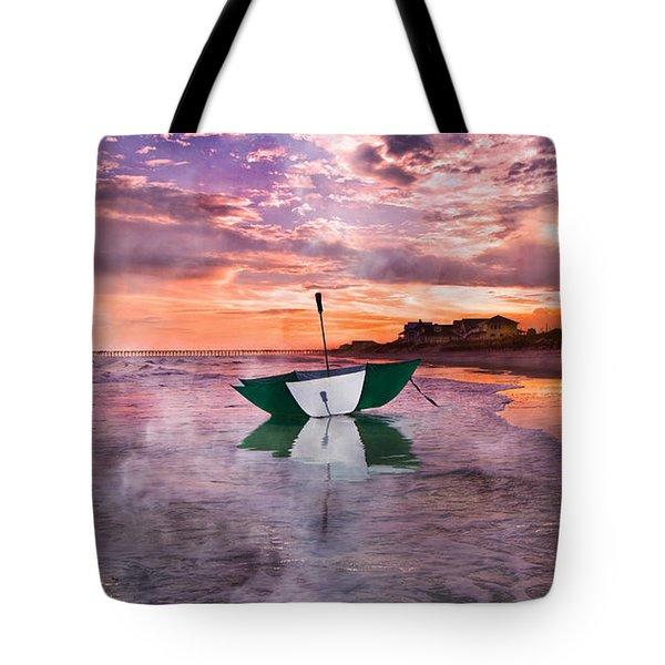 An Enchanting Evening Tote Bag by Betsy Knapp