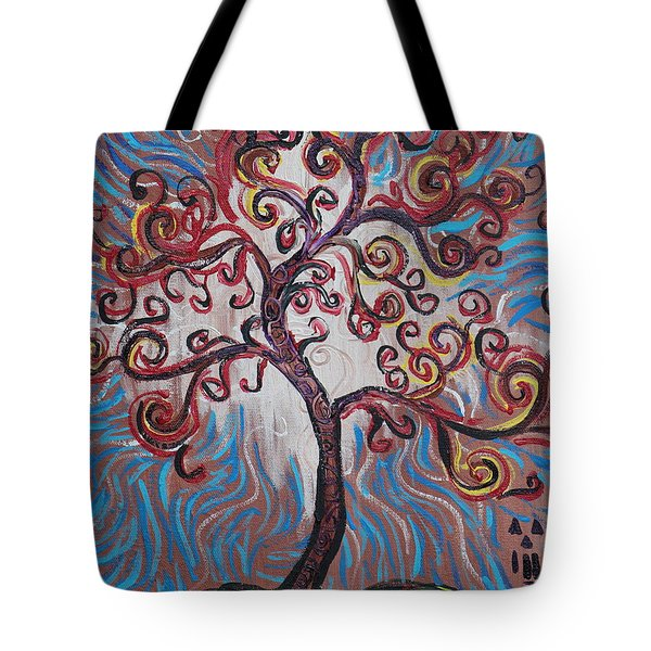 An Enlightened Tree Tote Bag