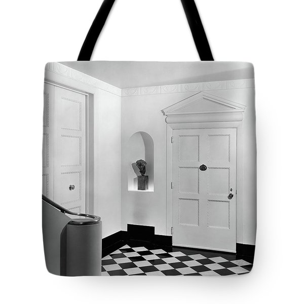 An Entrance Hall Tote Bag