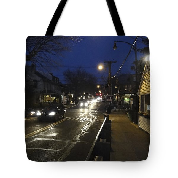 An Evening For Robert Beck Tote Bag