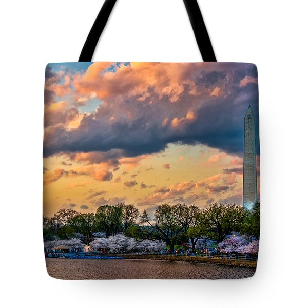 An Evening In Dc Tote Bag