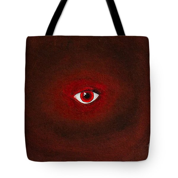 An Eye Is Upon You Tote Bag by Stefanie Forck