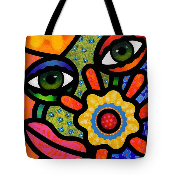 An Eye On Spring Tote Bag