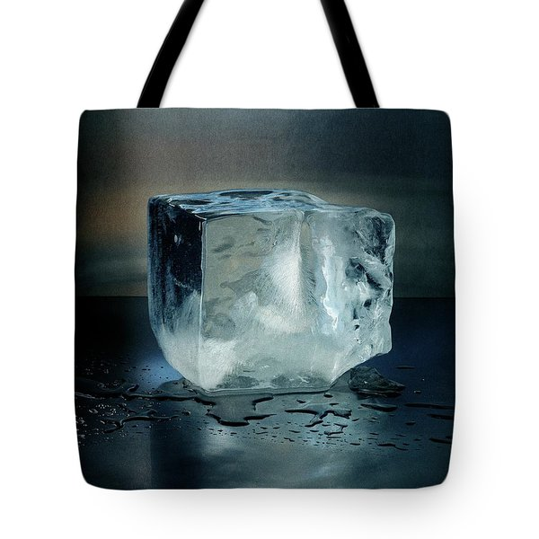 An Ice Cube Tote Bag