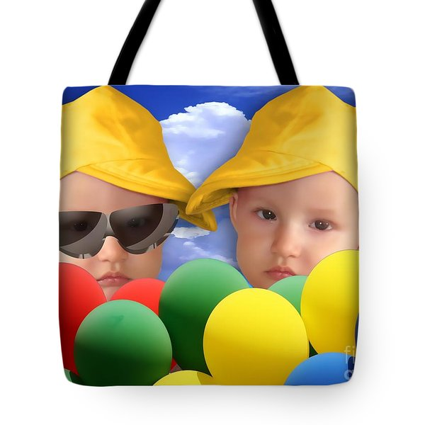 An Image Of A Photograph Of Your Child. - 07a Tote Bag
