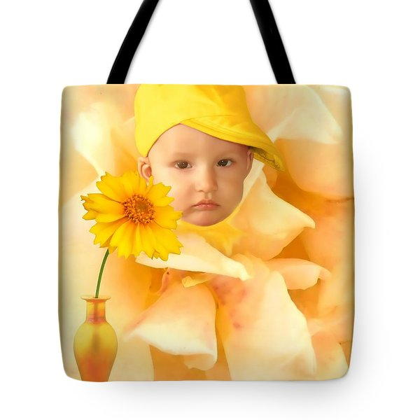 An Image Of A Photograph Of Your Child. - 09 Tote Bag
