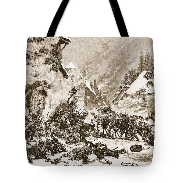An Incident In The Battle Tote Bag