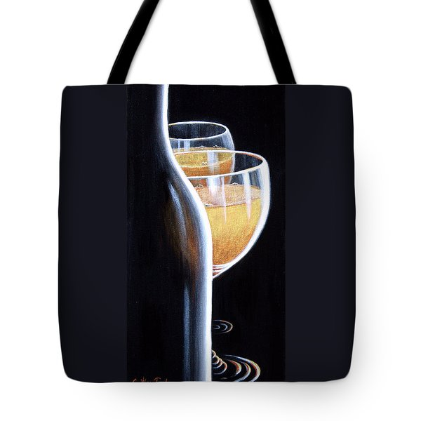 Tote Bag featuring the painting An Indecent Proposal by Sandi Whetzel