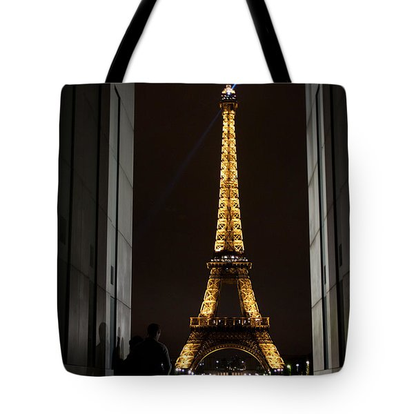 An Intimate Moment With Eiffel Tote Bag by John Daly