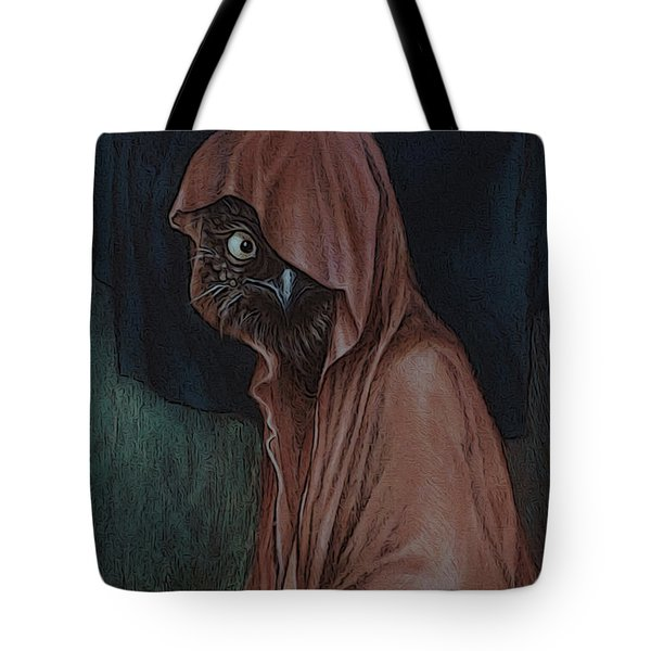 An Introvert Tote Bag by Yvonne Wright