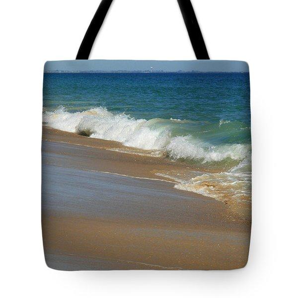 An Ocean View  Tote Bag by Neal Eslinger