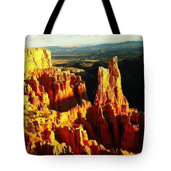 An October View Tote Bag