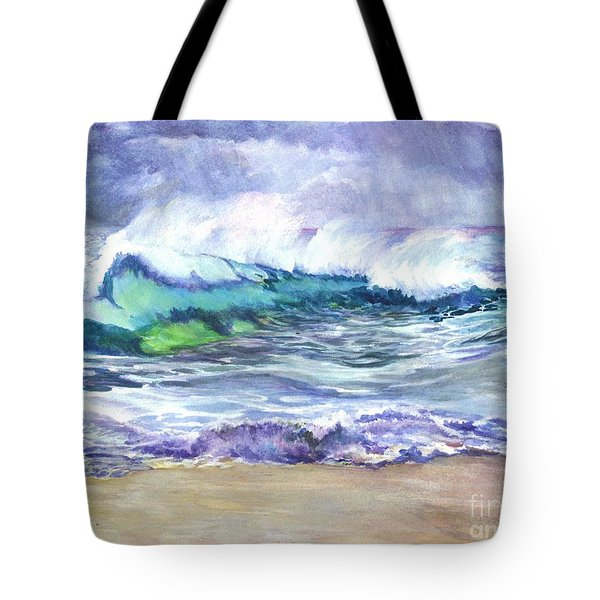 An Ode To The Sea Tote Bag