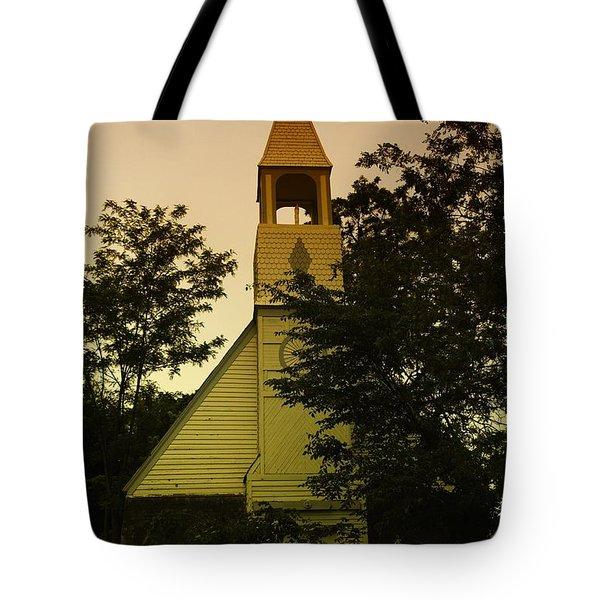 An Old Church Near Moxee Wa Tote Bag by Jeff Swan