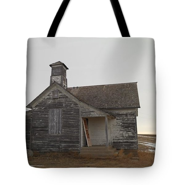 An Old Church On The Prairie  Tote Bag by Jeff Swan