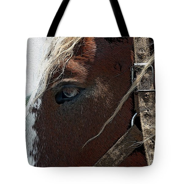 An Old Friend Tote Bag by Yvonne Wright