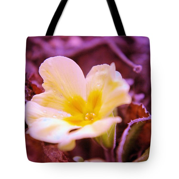An Open Bud Tote Bag by Jeff Swan