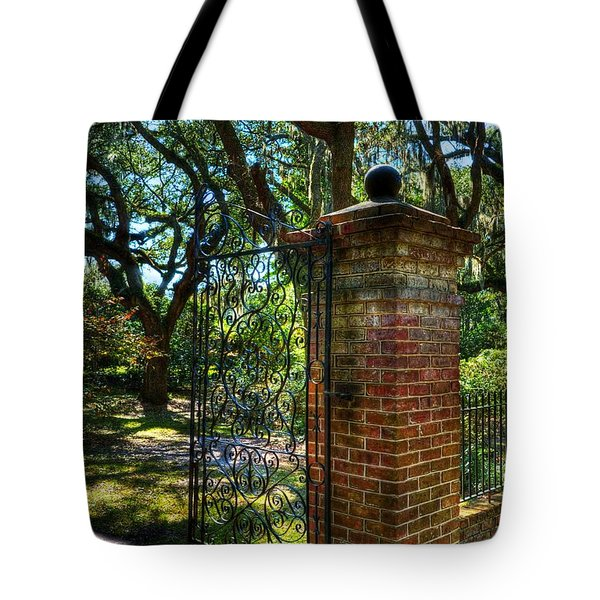 An Open Gate 2 Tote Bag