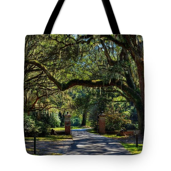 An Open Gate 3 Tote Bag