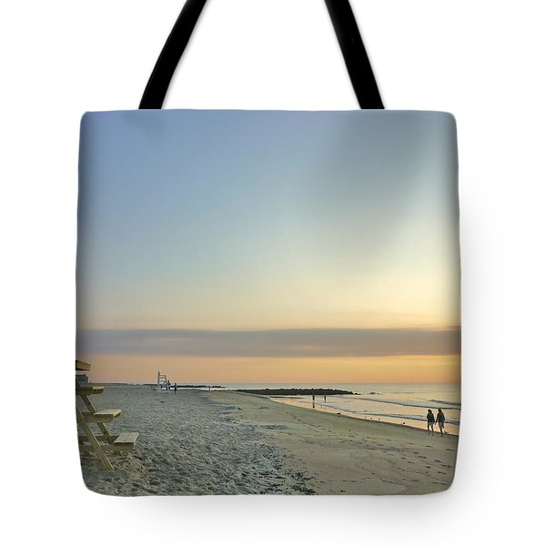 An Ordinary Summer Day Begins Tote Bag