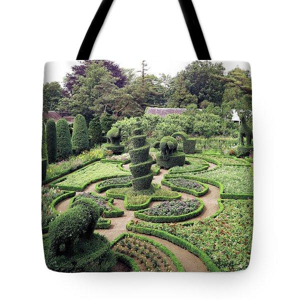An Ornamental Garden Tote Bag