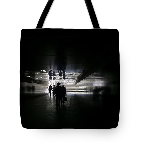Underpass Tote Bag by Anna Yurasovsky