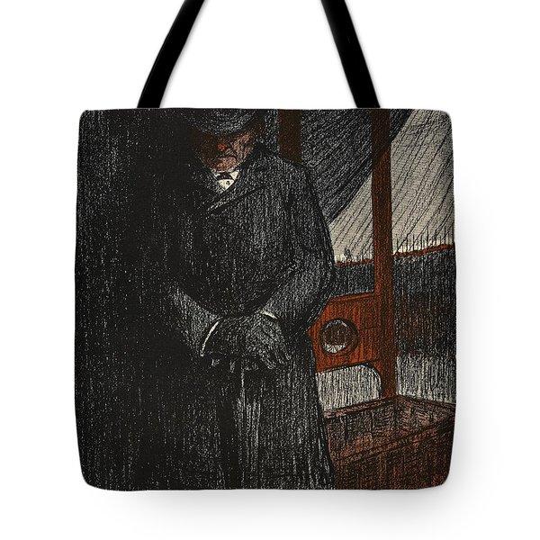 An Undertaker Awaits His Next Victim Tote Bag