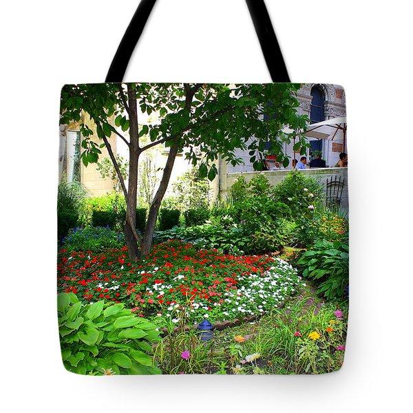An Urban Oasis Tote Bag by Dora Sofia Caputo Photographic Art and Design